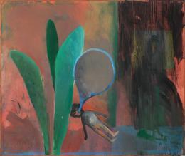 Tomas Kratky Ohne Titel, 1987 Öl auf Leinwand, 165 x 194,6 cm Kunstmuseum Bern, Sammlung Migros Aare © Kunstmuseum Bern