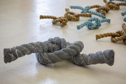 Knoten-Installation von Herbert Meusburger (Foto: Petra Rainer)