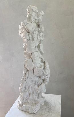 Rabensteiner Udo, Häutung, Gipsmodell 2011