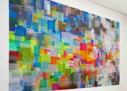 Tina Haase: Wieviel Farbe kannst Du noch ertragen? (Bild: Allerart)
