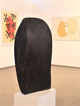 Michael Croissat: Kopf (Eisenskulptur, 1985)