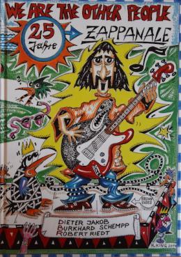 Vor fünf Jahren gestaltete Helmut King auch das Cover der Publikation anlässlich der 25. Zappanale