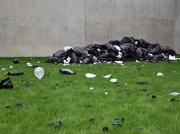 Bunny Rogers: Trash Mound (Ausschnitt) (Foto: Karlheinz Pichler)