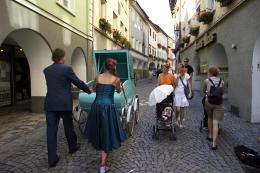 Nikolaus Walter: Straßenkünstler in Bludenz (© Walter)