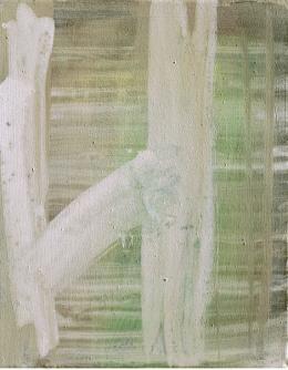 Doris Piwanka: Gouache, Öl auf Baumwolle (© Piwanka)