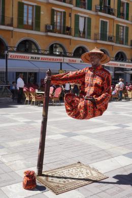 Nikolaus Walter: Straßenkünstler auf Mallorca (© Walter)
