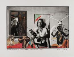 René Burri, Autoportrait, Coronado, Nouveau Mexique, Etats-Unis, 1973/1983. © René Burri / Magnum Photos. Fondation René Burri, Courtesy Musée de l'Elysée, Lausanne