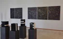 Herbert Meusburger: Blick in die Ausstellung (Foto: Karlheinz Pichler)