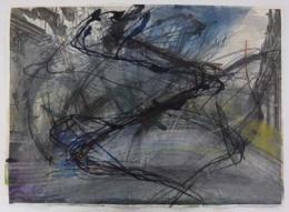 Arnulf Rainer, Serie Piranesi, 1987 Ohne Titel Mischtechnik auf Papier ca. 40,5 x 55 cm Leihgeber: Arnulf Rainer Foto © Christian Schepe