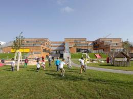 Bildungscampus Aspern, Wien, Architektur: ZT Arquitectos Lda, Foto: © Gisela Erlacher