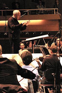 Pierre Boulez an den Donaueschinger Musiktagen 2008 (Bild: Donaueschinger Musiktage)
