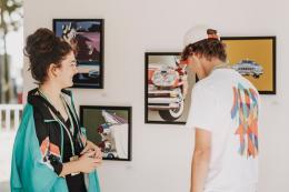 Young Art Generation - Bilderausstellung (© Angela Lamprecht)