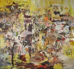 Cecily Brown, Tripe with Lemons, 2004, Öl auf Leinwand, Albertina, Wien – The Essl Collection © Cecily Brown
