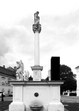 Christian Helwing, Mariensäule, 2020 © Christian Helwing VG Bild-Kunst, Bonn 2020