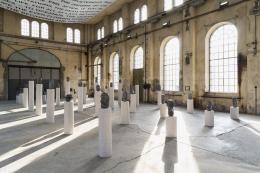 "Claudia Comte, ""The Sea of Darkness"", 2020-2021, Installationsansicht Kunstraum Dornbirn © Foto Gunnar Meier"