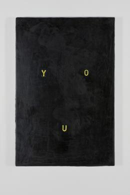 Stefan Gritsch, You (Selbstporträt), 2018 Acrylfarbe auf Aluminiumplatte, 24 x 16 x 1 cm Courtesy der Künstler © 2018, ProLitteris, Zürich Foto: ullmann.photography