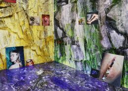 "Rachele Monti, ""Longeva sutura erosiva"", 2014, Photography: inject print laminated on dibond and granit, pvc print, Ausstellungsansicht La Rada, Locarno, 2016 © Rachele Monti"