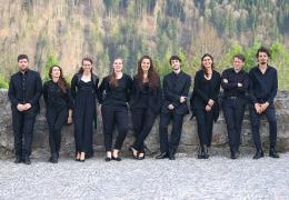 "Die Mitglieder des Orchesters ""concerto arcus caelestis"""
