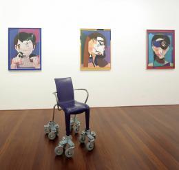 Marina Faust. Otto-Breicha-Preis für Fotokunst 2019. Ausstellungsansicht. Museum der Moderne Salzburg, 2020. © Museum der Moderne Salzburg, Foto: Rainer Iglar