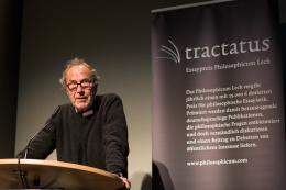 Der ehemalige Verleger und Schriftsteller Michael Krüger ist ebenfalls seit 2015 Teil der Tractatus-Jury. (c) Philosophicum Lech by Florian Lechner