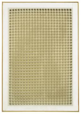 Dadamaino, Volume a moduli sfasati, 1960, Hilti Art Foundation
