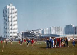 Kiel Mettenhof, 1964–1972 Hans Konwiarz, Neue Heimat Hamburg und Neue Heimat Kiel  Foto: 1974 © Hamburgisches Architekturarchiv