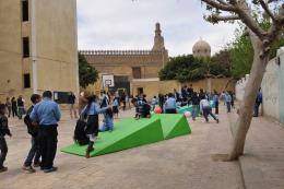 Learn-Move-Play-Ground Project / baladilab, Kairo, 2014