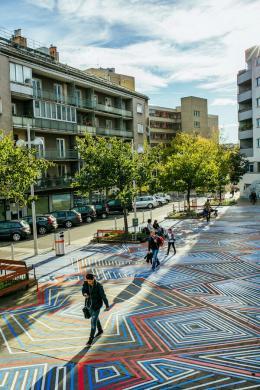 Den öffentlichen Raum zu bespielen ist auch im 15. Jahr der Vienna Design Week ein Kernelement des Festivals. ( © Vienna Design Week-Kollektiv Fischka-Maria Noisternig, Vienna Design Week )