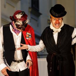 """Straßentheater - """"Die Pest im Walgau"""""""