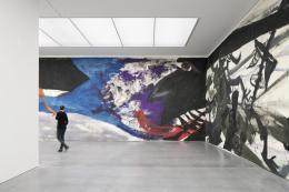 Saalaufnahme Bündner Kunstmuseum Chur Martin Disler Die Umgebung der Liebe, 1981 (Ausschnitt) Foto: Ralph Feiner