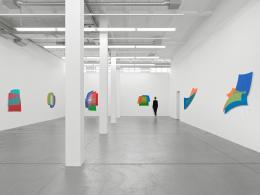 Dóra Maurer, Exhibition view Museum Haus Konstruktiv, 2021. Photo: Stefan Altenburger