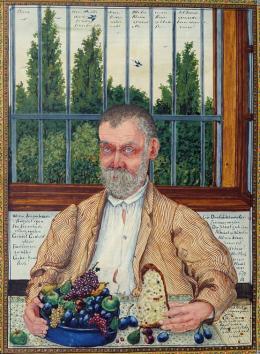 Josef Karl Rädler (1844–1917)  Ein Deutschböhmischer-Zimmermaler, 1904  Privatsammlung, Salzburg, Foto: Altnöder