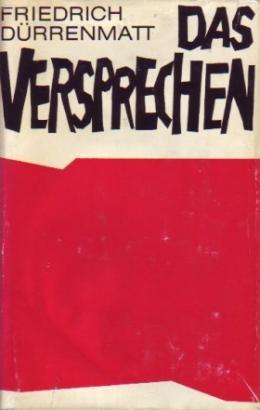 """Buchcover von """"Das Versprechen"""", 1958 (©: Dürrenmatt/ CCO)"""