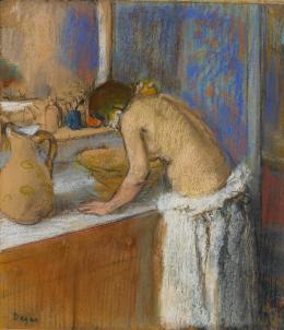 Edgar Degas, Frau bei der Toilette, 1895, Leihgabe aus Privatbesitz, Foto: © Staatsgalerie Stuttgart