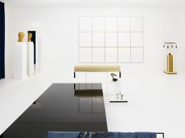 "Haris Epaminonda: Installationsansicht ""VOL. XXIII"", Secession, Wien, 2018. Foto: Sophie Thun, Vienna, Courtesy: die Künstlerin, Rodeo London/Piraeus & Galleria Massimo Minini, Brescia"