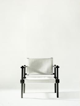 Egon Rainer, Sesselvariante aus dem Steckmöbelprogramm (zusammengebaut), ab 1968/69 – © Studio Casali