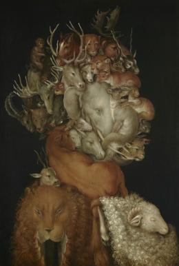Giuseppe Arcimboldo, Terra (Die Erde), um 1570, Liechtenstein. The Princely Collections, Vaduz–Vienna