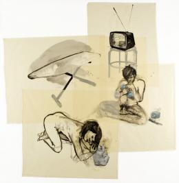 """Eric Fischl, """"Young Revolutionaries"""", 1979,  Courtesy der Künstler und Appletree Collection, © 2020 Eric Fischl/Bildrecht, Wien 2020"""