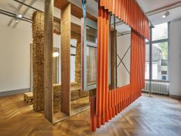 Fassaden Mock-Up K118, Ausstellung S AM ©baubüro in situ/Foto: Martin Zeller