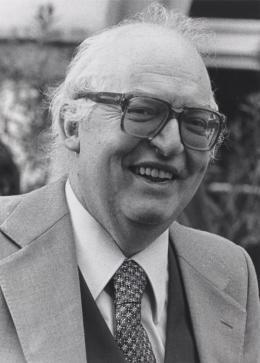 Friedrich Dürrenmatt, 1979. Foto: Peter Friedli, Bern/Schweizerische Literaturarchiv