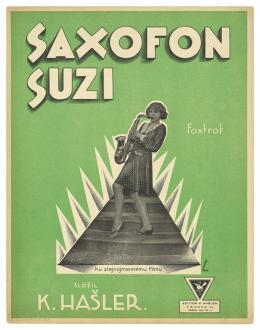 Ferdinand Fiala, Saxofon Suzi, Prag 1928, Sammlung Walter und Dora Labhart