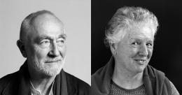 Miriam Cahn und Peter Zumthor, Fotos: Markus Tretter