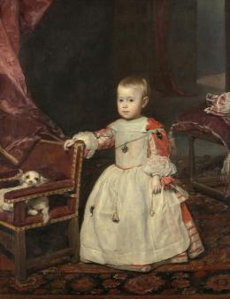 Infant Philipp Prosper (1657-1661), Diego Rodríguez de Silva y Velázquez (1599–1660), 1659, Kunsthistorisches Museum Wien, Gemäldegalerie © KHM-Museumsverband