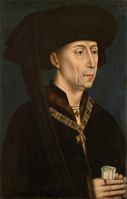 Herzog Philipp der Gute (1396 – 1467) von Burgund, Kopie nach: Rogier van der Weyden (1399 oder 1400 Tournai – 1464 Brüssel) Um 1500 © KHM-Museumsverband