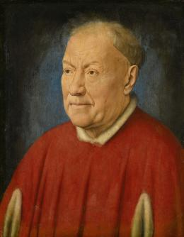 Bildnis eines Gelehrten, ehemals als Kardinal Albergati bezeichnet, Jan van Eyck (um 1390 Maaseyck bei Maastricht – 1441 Brügge) Um 1435 © KHM-Museumsverband