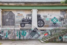 Welche gesellschaftspolitischen Themen bildet die Graffiti-Strecke am Wiener Donaukanal ab? Das untersuchen neue Forschungen, gefördert von der Österreichischen Akademie der Wissenschaften. © ÖAW