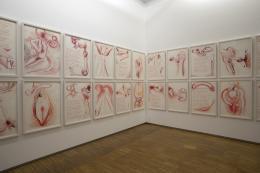 """Ansicht, """"Bild-Dichtungen"""", Bruseum, 2021,  Foto: Universalmuseum Joanneum/J.J. Kucek"""