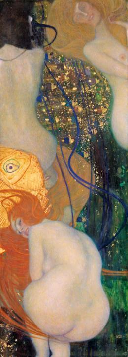 Gustav Klimt, Goldfische, 1901 - 1902 Kunstmuseum Solothurn, Dübi-Müller-Stiftung