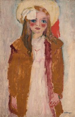 """Kees van Dongen, """"Portrait de Dolly"""", um 1910, Öl auf Leinwand, HxB: 100 x 65 cm, Kunstmuseum Basel- Dauerleihgabe aus Privatsammlung, Foto: Privatsammlung, © 2020, Pro Litteris, Zurich"""