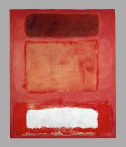 Mark Rothko (1903-1970) No. 16 (Red, White and Brown) 1957 Öl auf Leinwand 252,2 × 207 cm © 1998 Kate Rothko Prizel & Christopher Rothko/Bildrecht, Wien, 2019 © Foto: Kunstmuseum Basel